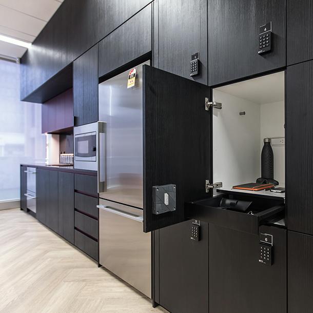 Agile Workplace Lockers
