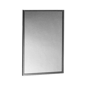 B165 2448 Channel Framed Mirror 610mm X 1220mm Rynat