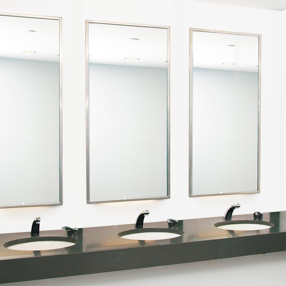 Washroom Products: Bobrick Mirrors & Shelves