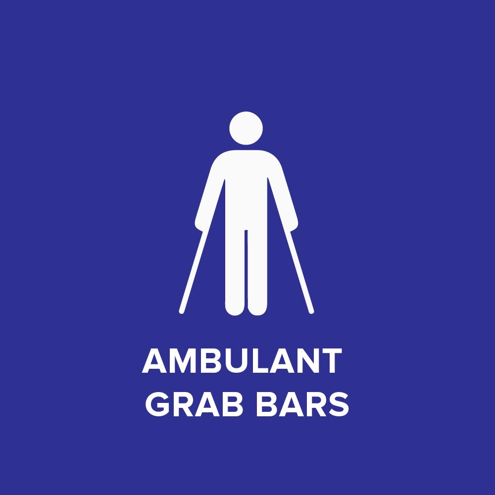 Ambulant Grab Bars (AS 1428.1-2009)