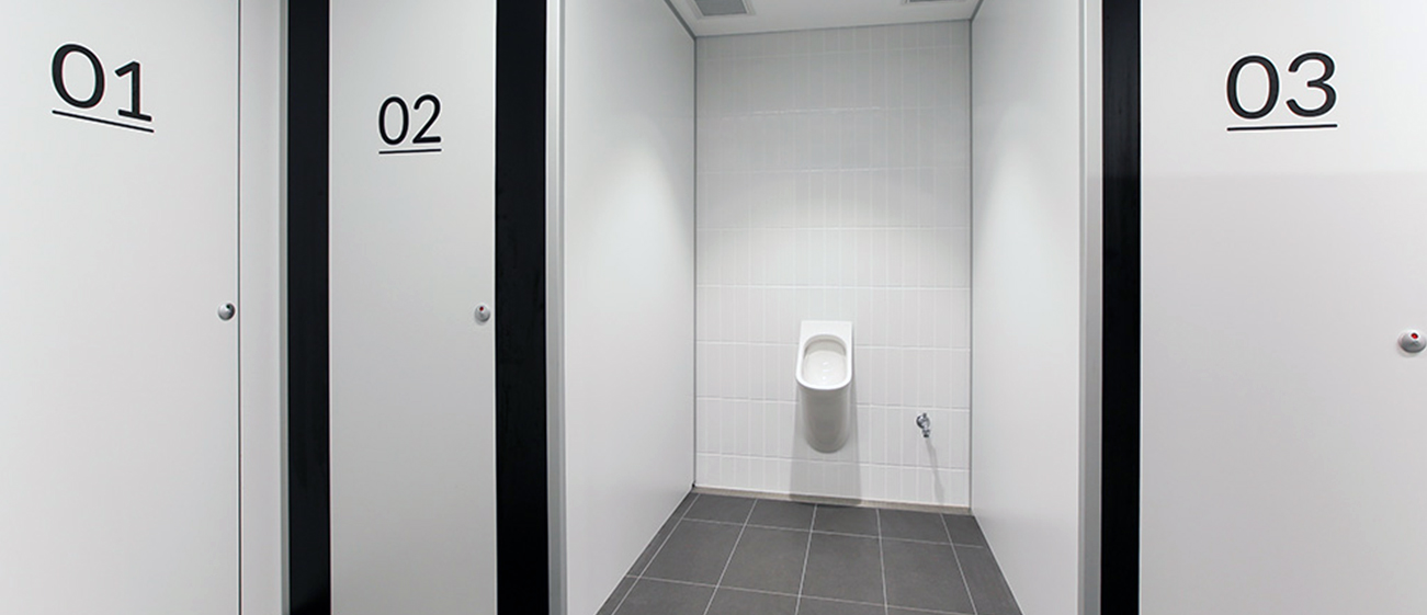 Gender Neutral Full Height Cubicle Partitioning Systems