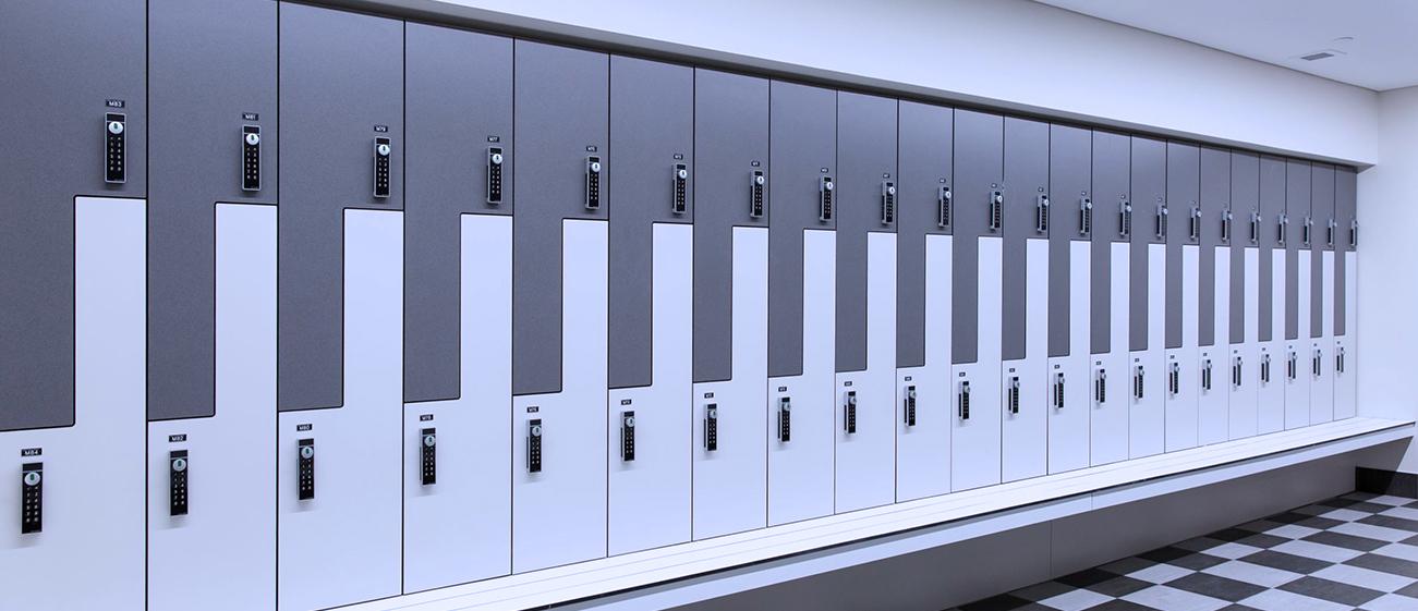 Z Shaped Lockers
